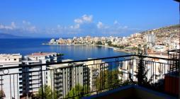 Продажа отличной квартиры с панорамным видом на море в г. Саранда. Alba Land